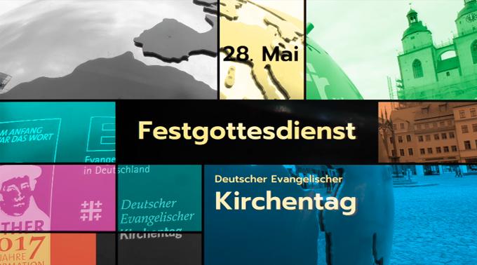 500 Jahre Reformation - Festgottesdienst in Wittenberg